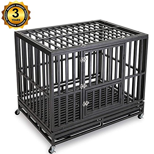 Gelinzon Dog Cage Crate
