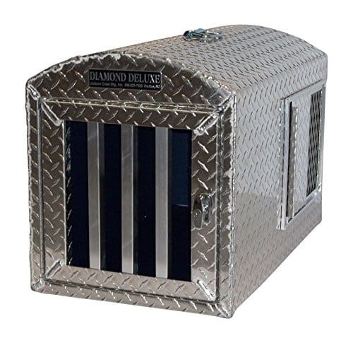 Diamond Deluxe~Aluminum Single Hole Dog Box