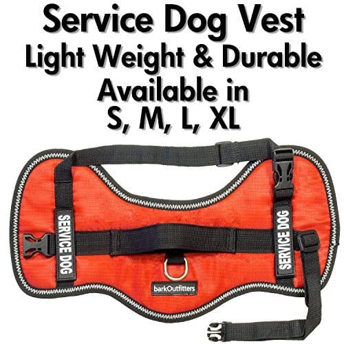 Bark Outfitters Service Dog Vest Harness