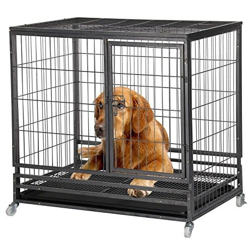Yaheetech 37'' Dog Kennel