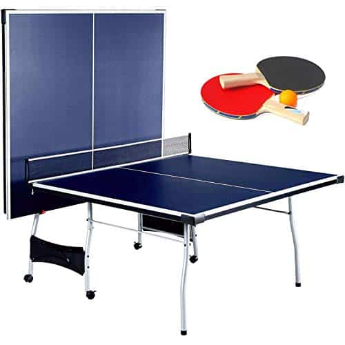 Selva Foldable 4 Piece Table Tennis Ping Pong Play