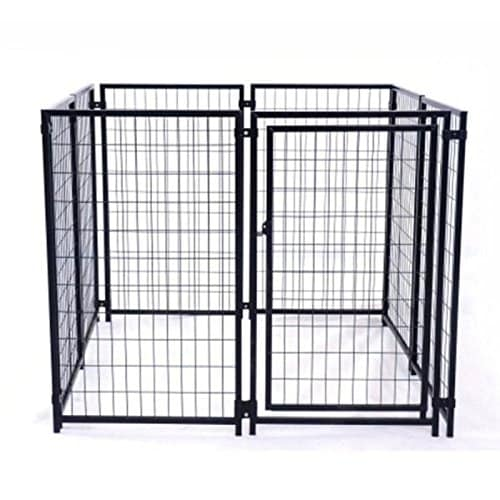 ALEKO DK5X5X4SQ Pet System DIY Box Kennel Dog Kennel Playpen Chicken Coop Hen House