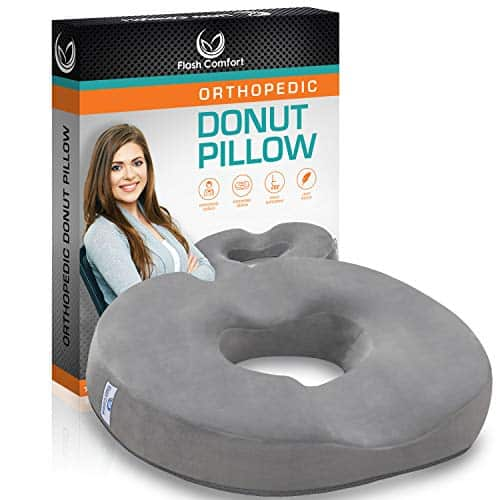 Premium Comfort Orthopedic Donut Seat Cushion