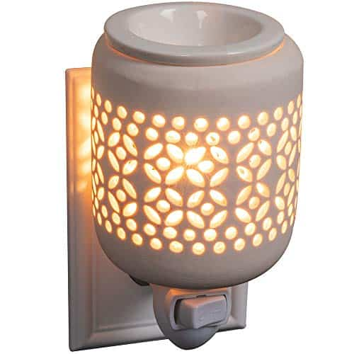 Scent Works Celestial Ceramic Plug-In Wax Melter & Essential Oil Diffuser