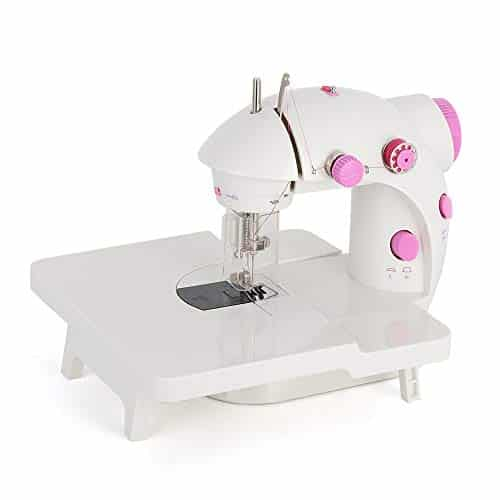 BTY Mini Portable Sewing Machine with Extension Table Handheld